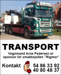 vognmand arne pedersen transport